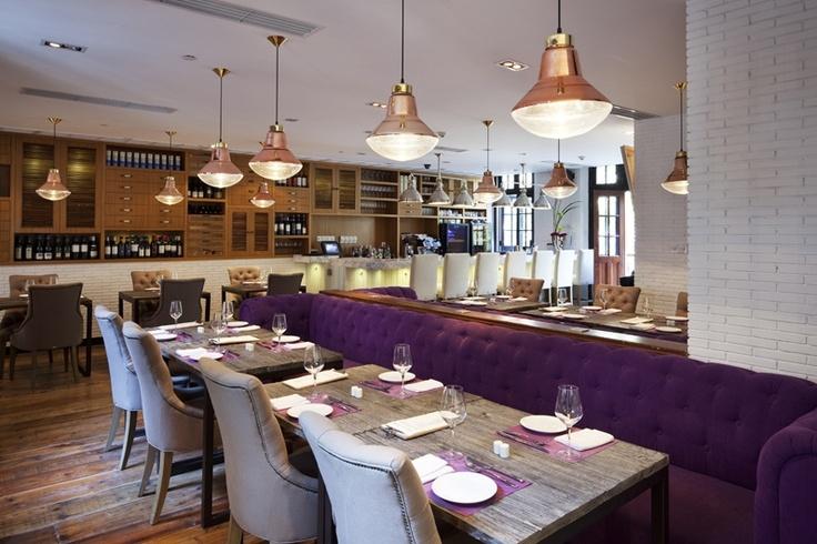 The Fat Olive is a Mediterranean concept  restaurant by prolific restaurateur David Laris in Shanghai.