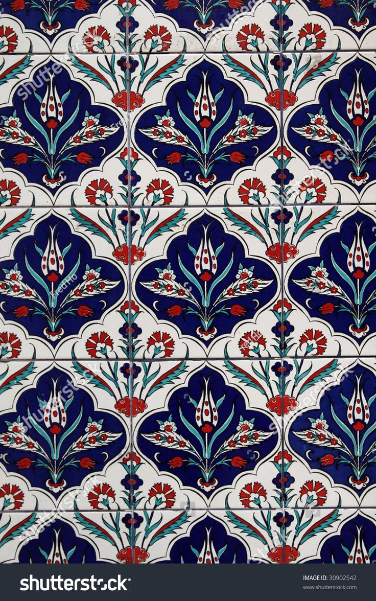 Pattern of the wall tiles in a tradional Chinese temple.