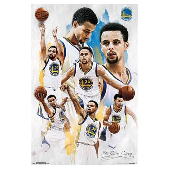 """24"""" x 36"""" Golden State Warriors Stephen Curry Poster"""