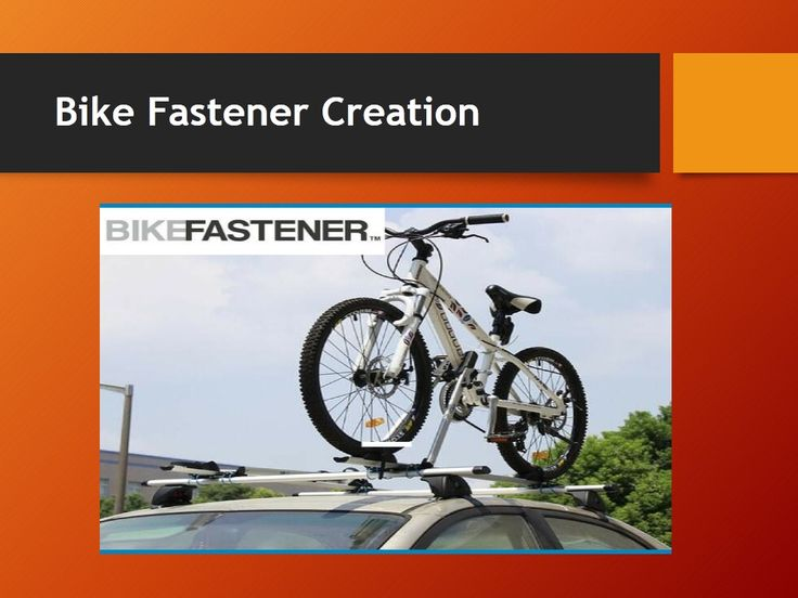 Bike Fastener - Car Bike Carrier for a Car at Affordable prices