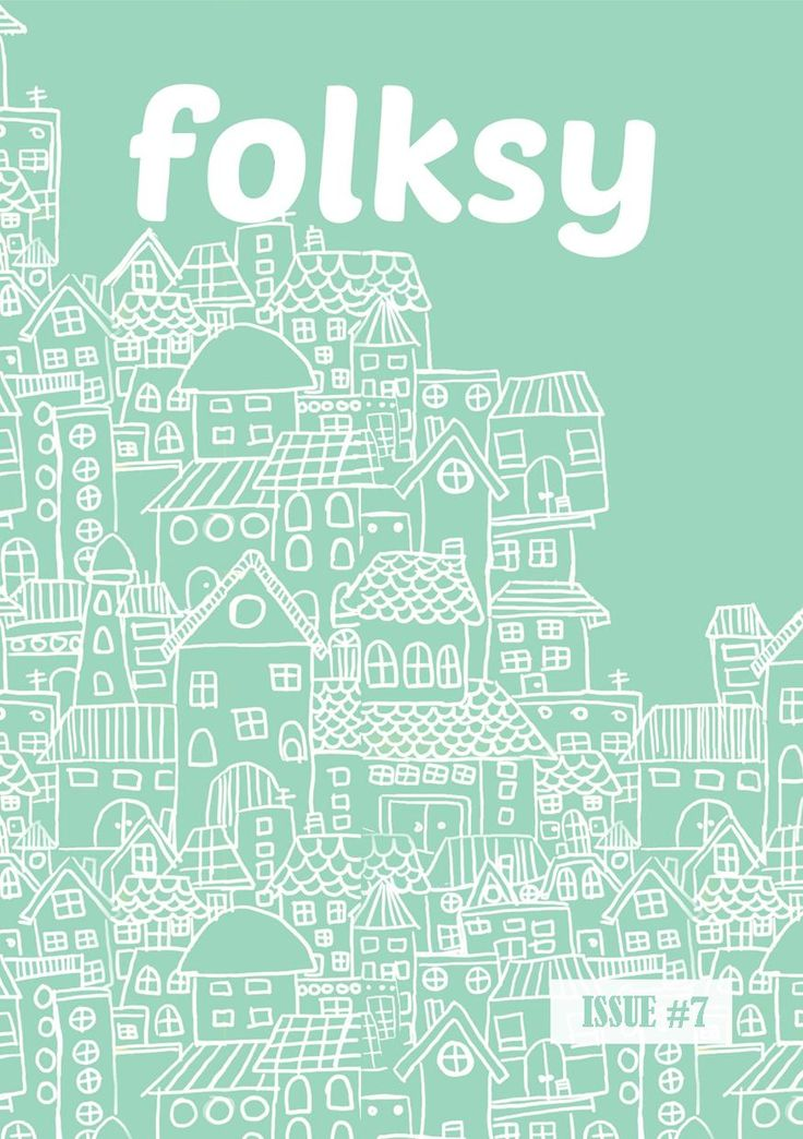 folksy 7th edition, issue: crafting with mom, December 2015 - Januari 2016. Cover illustration by Anisa Dilla Qolbi