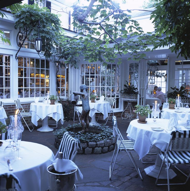 Charlotte inn edgartown ma waitressed here as a for Terrace restaurant charlotte