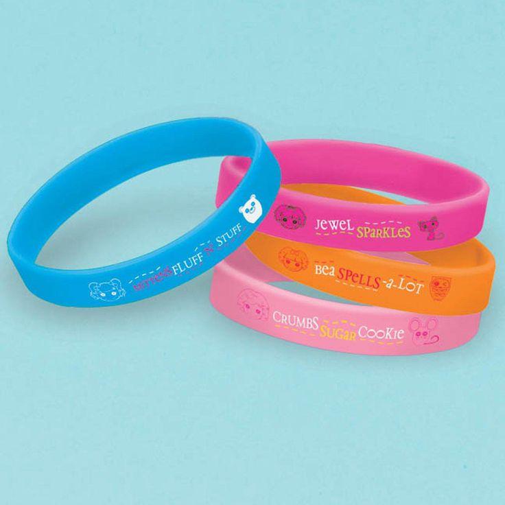Lalaloopsy Rubber Bracelets from BirthdayExpress.com