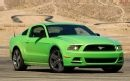2013 Ford Mustang V 6 Premium Front Three Quarter View Photo 1