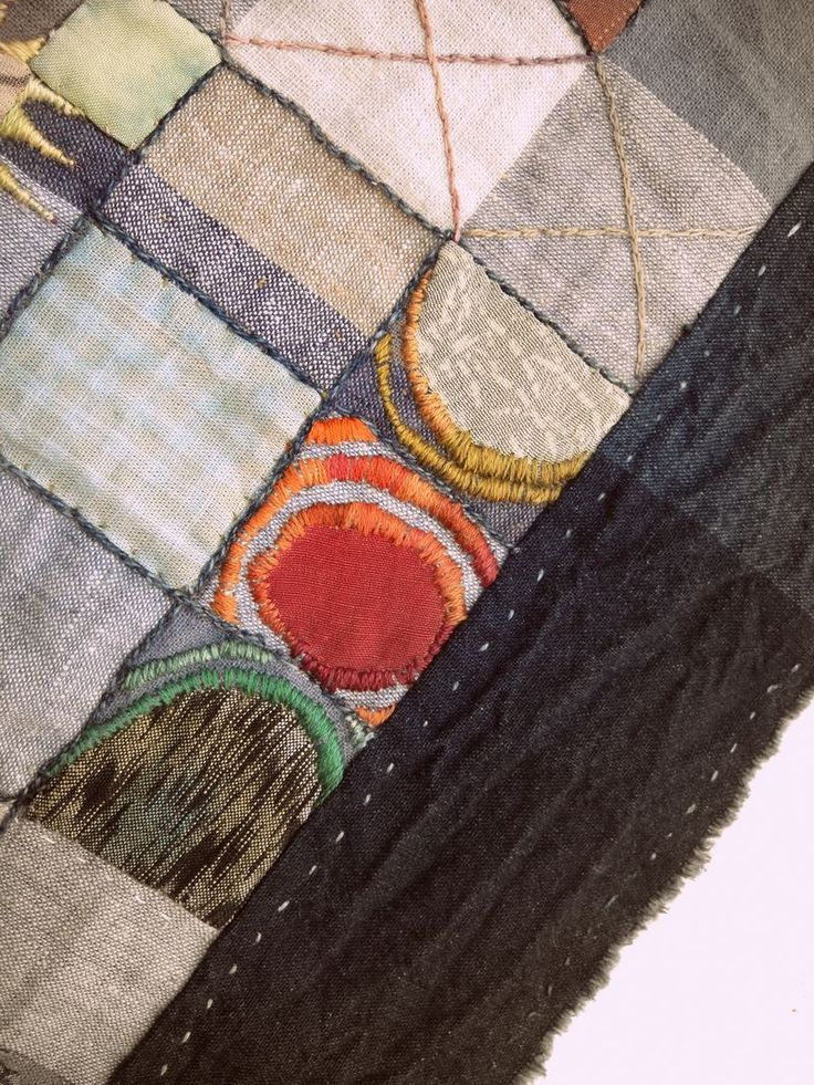 Meeting place, Jude Hill / Spirit Cloth textile art