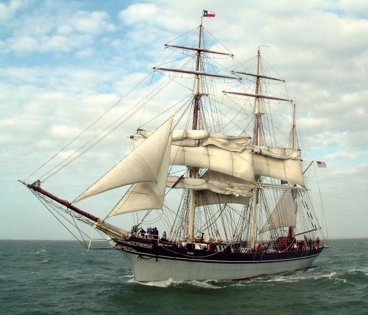Best things to do in Galveston, TX. Galveston Itinerary - 1877 Tall Ship Elissa