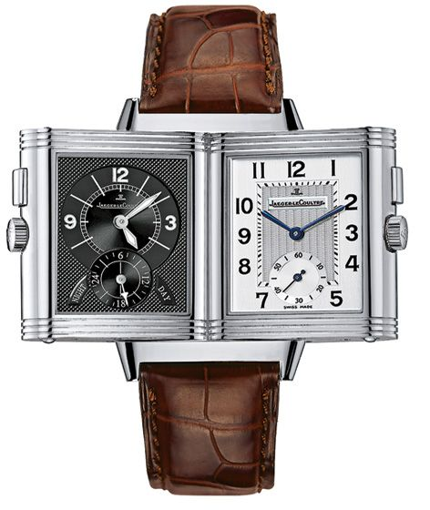 Jaeger-Lecoultre - Reverso DUO - Mens luxury watch