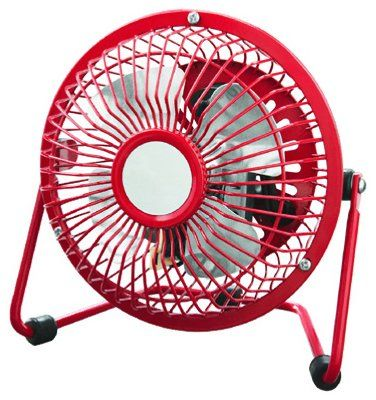Westpointe HVF4-RPRed 4-Inch High Velocity Fan Red
