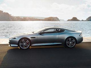 2013 Aston Martin DB9 Side View