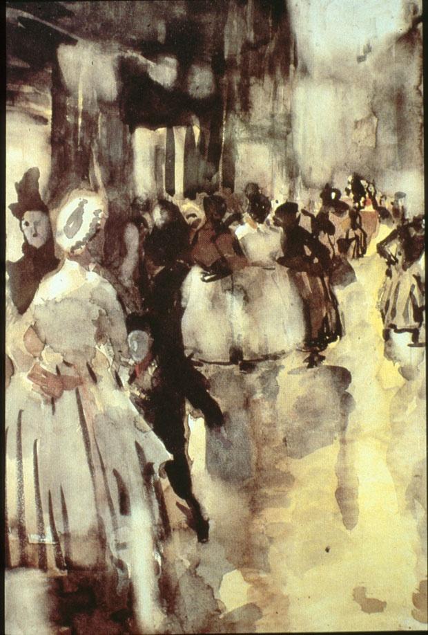 George Hendrik Breitner - aquarel