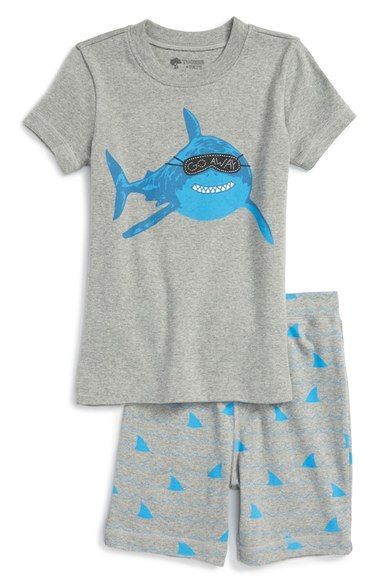 Tucker + Tate Two-Piece Fitted Pajamas (Little Boys & Big Boys) available at #Nordstrom