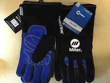 Miller Welding Gloves 2 Pairs Of arc Armor Size Lg