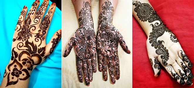 Indian Rajasthani Mehndi Designs for Hands 2015 Images Video. Beautiful Stylish Henna Mehndi Design for Both Hands Pics for Brides, Girls.