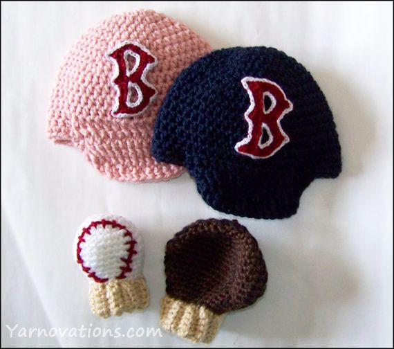 2acf3da36 Boston Red Sox - Crochet B Applique - Crochet Pattern | Crochet Fun | Crochet  baby hats free pattern, Crochet, Boston red sox
