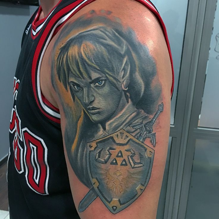 Legend of Zelda tattoo