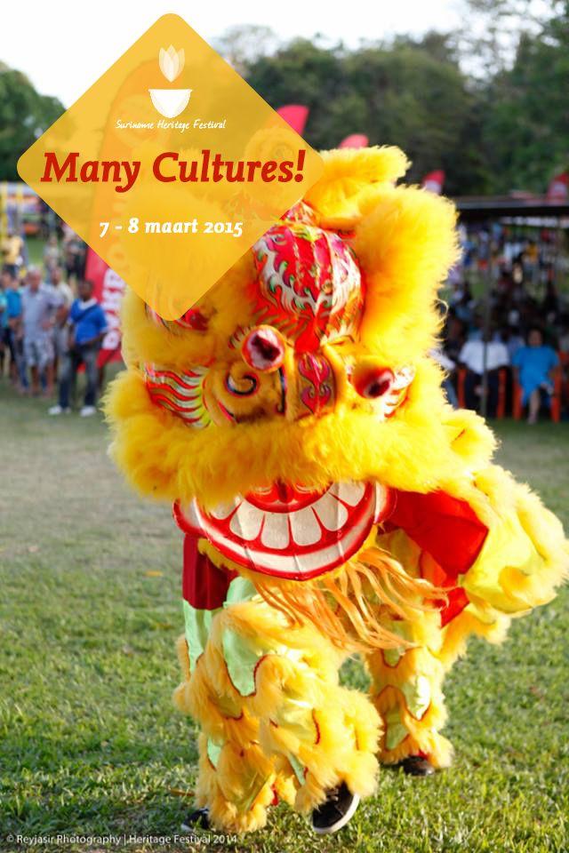 Dragon Dance @ Suriname Heritage Festival