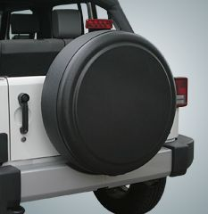 "Rigid Tire Cover by Boomerang - Fits 29-30"" Jeep Wrangler YJ, TJ and JK"