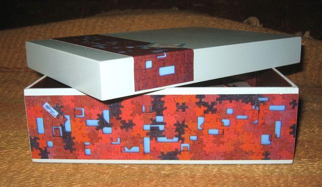 Puzzle JANELAS - Caixa de Madeira