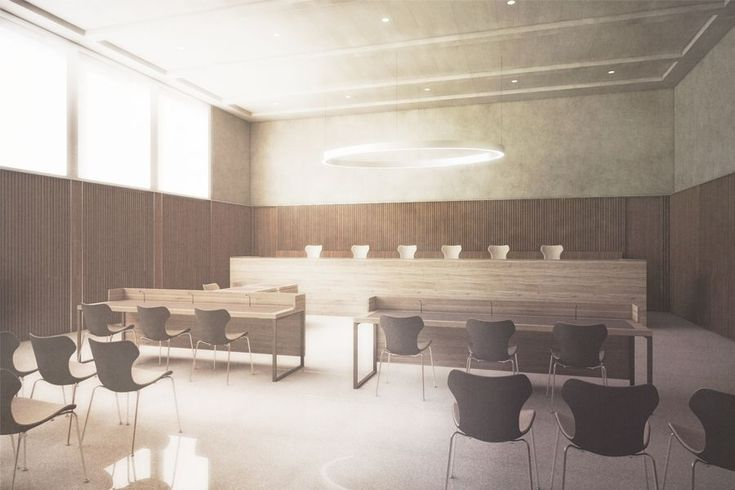 raumfindung Architekten . District Court Extension . Meilen (3)