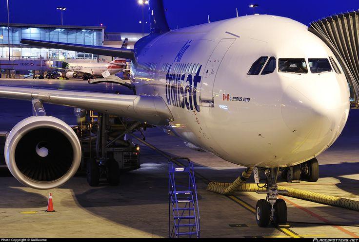 C-GTSW Air Transat Airbus A310-304 photographed at Montréal - Pierre-Elliot-Trudeau International (Dorval) (YUL / CYUL) by Guillaume