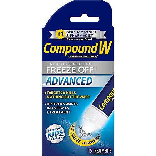 Compound W Freeze Off Wart Removal System, 15 Treatments
