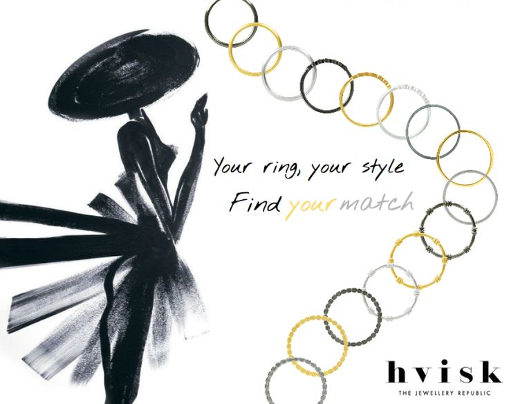 Your ring, your style! Find your match.