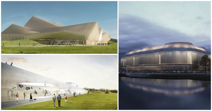 """3 Firms Selected in Competition to Design National """"Science Island"""" in Lithuania"""