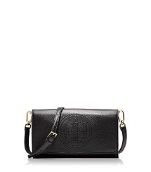 TORY BURCH Perforated Logo Small Clutch