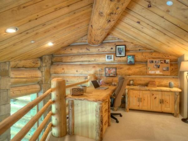 home office cabins. Exquisite Log Home On Three Levels Of High Quality Architecture My Office Cabins E