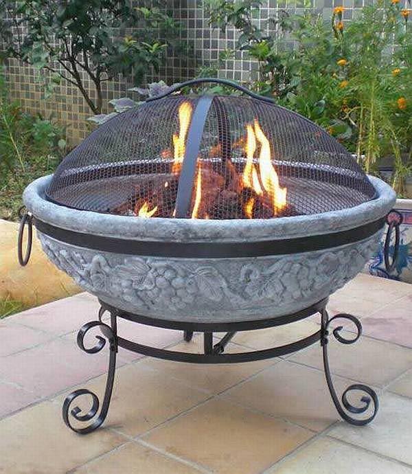 Backyard Gas Fire Pit