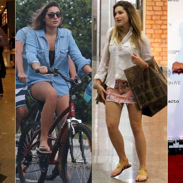 Sasha Meneghel: 17 looks evidenciam sua silhueta e pernas