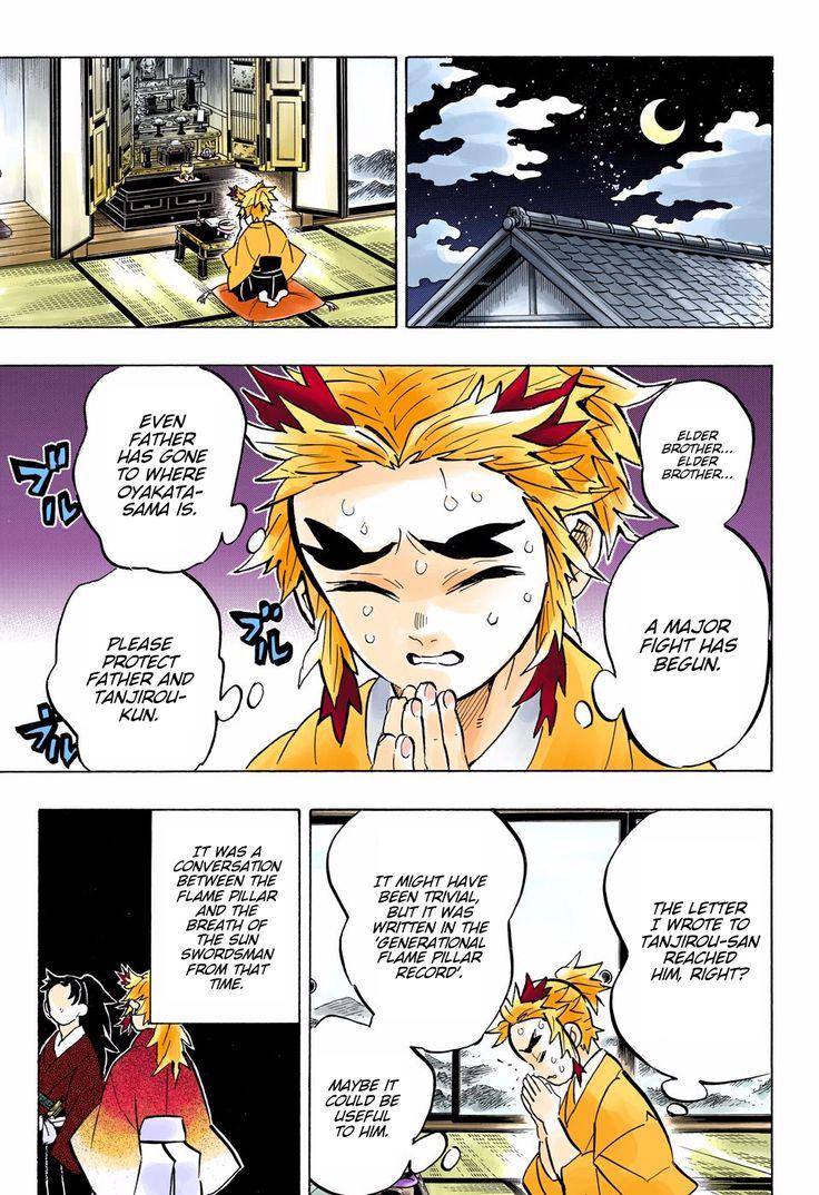 Kimetsu no Yaiba Digital Colored Comics Chapter 149 in