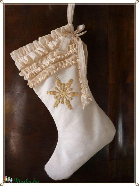 Meska - Ajándékátadó vintage csizma pannika kézművestől