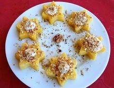 Di pasta impasta: Stelle di polenta con zola e noci
