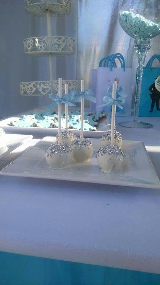 Frozen.  Cake pops