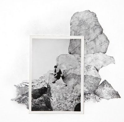 Spencer Studio: drawing scenes completing a vintage photograph