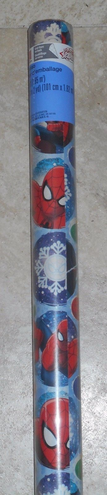 ULTIMATE SPIDER-MAN AMERICAN GREETINGS CHRISTMAS Wrapping PAPER 20 SQ FT ROLL | Home & Garden, Greeting Cards & Party Supply, Gift Wrapping Supplies | eBay!