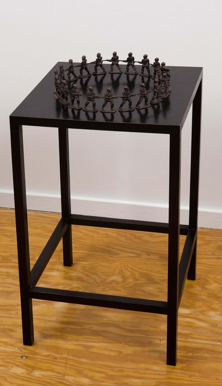 Mona Hatoum, via The Fertile Crescent Exhibition, Princeton University Art Museum