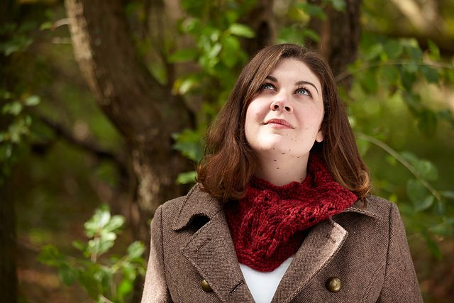 Ravelry: Branching Path Cowl pattern by Janelle Martin
