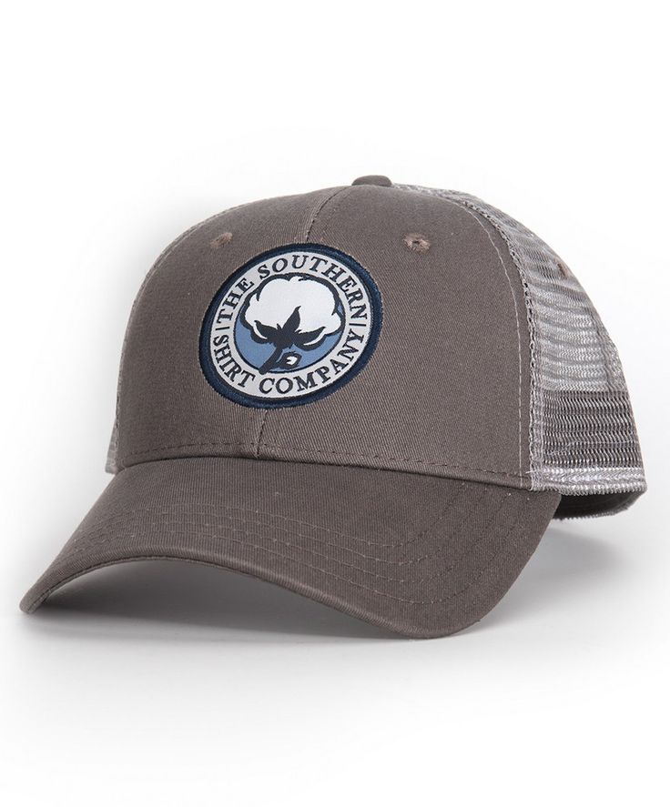 The Mesh Back Trucker Hat from Southern Shirt is durable, lightweight, comfortable and it looks great for any occasion!