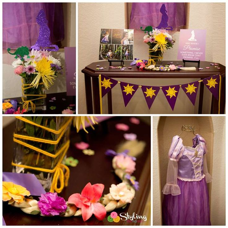 Amazing Tangled birthday party! See more party ideas at CatchMyParty.com!