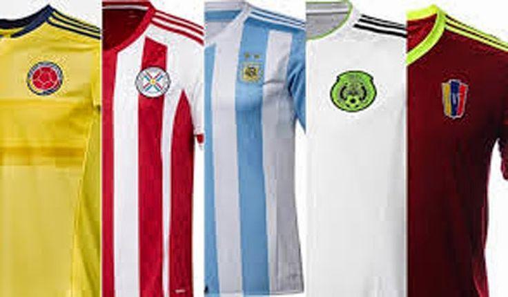 Nuevas camisetas de futbol 2014 2015 2016: Nueva camiseta de para la Copa América de Chile 2015
