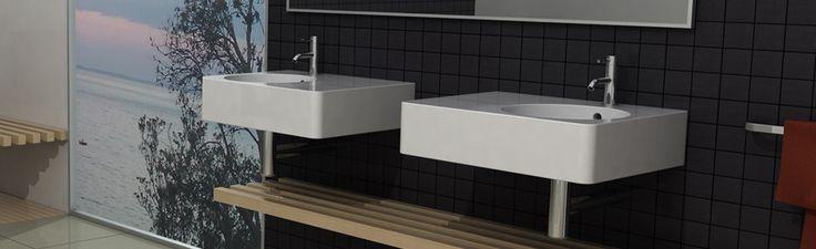meco - your bathroom | meco | banc | wall basin | MC021002T