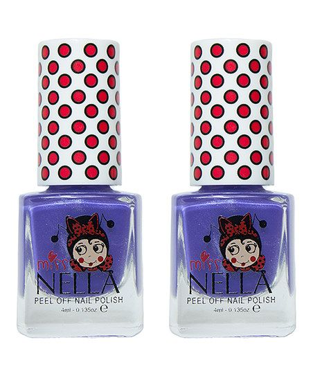 Miss Nella Sweet Lavender Nail Polish - Set of Two | zulily