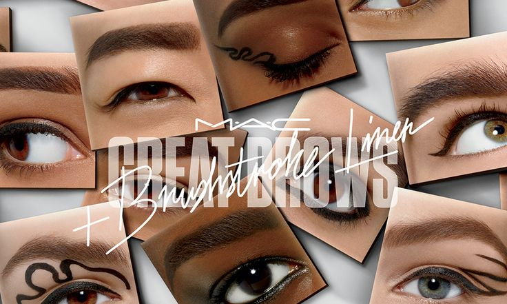 MAC Great Brows e Brushstroke Liner: kit sopracciglia ed Eyeliner - https://www.beautydea.it/mac-great-brows-brushstroke-liner/ - Sopracciglia e eyeliner on point con i nuovi prodotti Mac Cosmetics dedicati al trucco occhi!