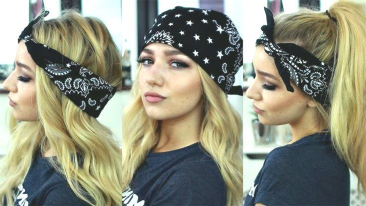 Frauen Frisuren 2018 Bandana Frisuren Bandana Frauen Frisuren Frisuren Bandana Frauen Fri Bandana Hairstyles Cool Hairstyles Hair Styles 2017