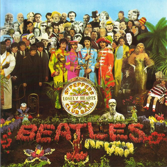 Beatles, The - 1967 - Sgt Pepper's Lonely Hearts Club Band by Sir Peter Blake