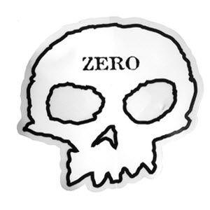 Zero Skateboards Skull Logo Sticker.  Please click on photo to purchase.