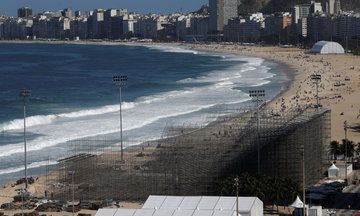 Body Parts Wash Up On The Shore Of Rio's Olympic Volleyball Beach