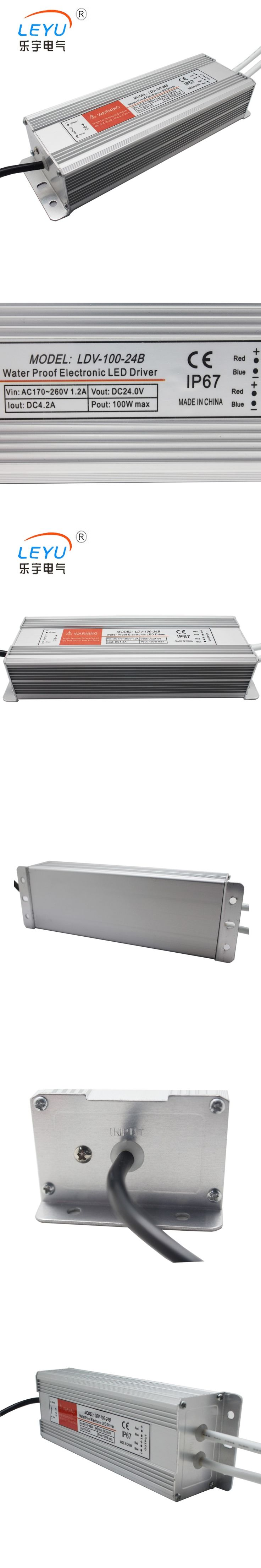 100w 12v  led Waterproof  Switching Power Supply  LDV-100-12